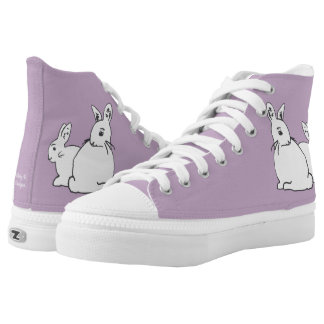 White Rabbits Mauve Lilac Shoes