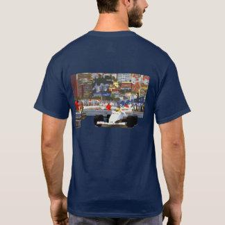 WHITE RACE CAR - City Circuit T-Shirt