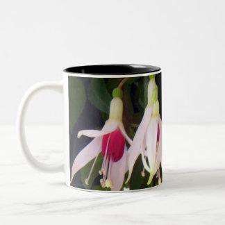 White Raspberry Fuchsias Coffee Mug