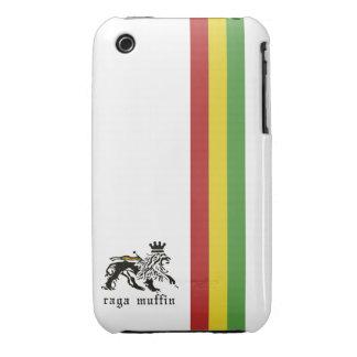 White Rasta Stripe iPhone 3G/3GS Case iPhone 3 Covers