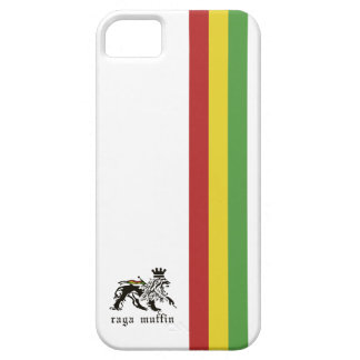 White Rasta Stripe Iphone 5 Case