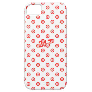 White & Red Case