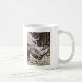 white rhino basic white mug