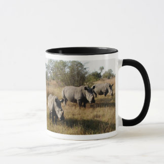White Rhinos in Sabi Sabi (South Africa) Mug