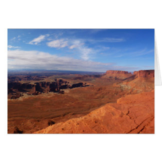White Rim Overlook at Canyonlands National Park Greeting Card