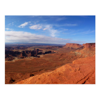 White Rim Overlook at Canyonlands National Park Postcard