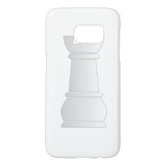White rock chess piece