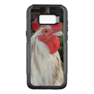 White Rooster With Brown Speckles, OtterBox Commuter Samsung Galaxy S8+ Case
