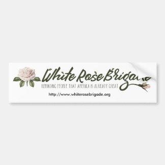 White Rose Brigade Bumper Sticker