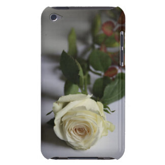 White rose barely there iPod cases