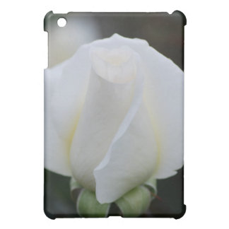 White Rose  iPad Mini Case