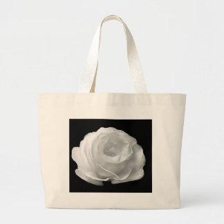 White Rose Jumbo Tote Jumbo Tote Bag