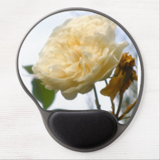 White Rose Mouse Pad Gel Mouse Pad