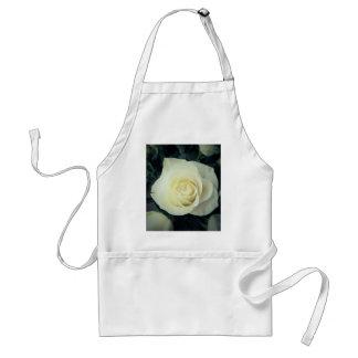 White Rose Mug Standard Apron