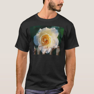 White Rose of  Peace - ASL T-Shirt