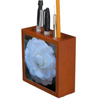 White Rose Photo taken in the French Quarter Pencil/Pen Holder