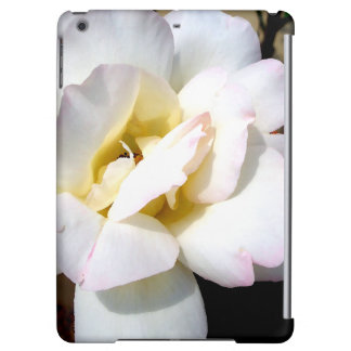 White Rose Roses Floral Garden Flowers iPad Case