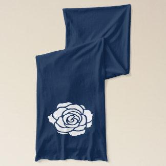 White Rose Scarf