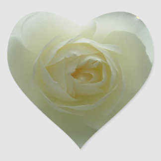 White Rose Stickers Cheerful Rose Gifts Keepsake