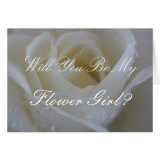 White Rose Wedding Cards