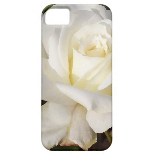 White Rose Wedding January Bridal Party Gifts iPhone 5/5S Covers