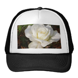 White Rose Wedding January Bridal Party Gifts Hat