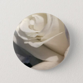 White Roses 6 Cm Round Badge