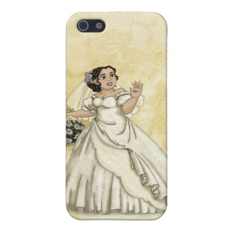 White Roses Bride Cover For iPhone 5/5S