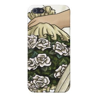 White Roses Bride iPhone 5 Cases