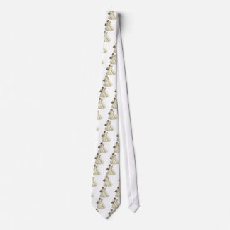 White Roses Bride Tie