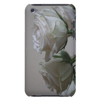 White roses iPod touch Case-Mate case