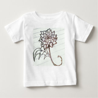 white roses flower baby T-Shirt