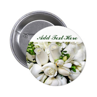 White Roses for any occasion_ Buttons