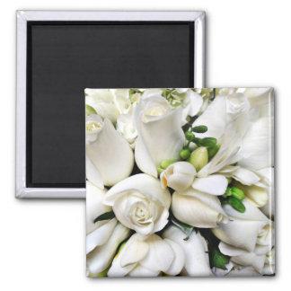 White Roses,for any occasion_ Fridge Magnet