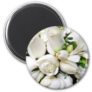 White Roses,for any occasion_ Magnets