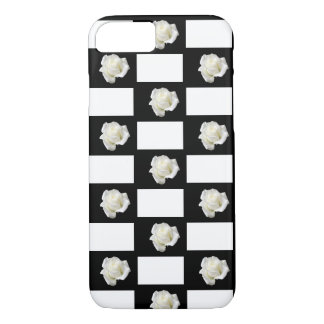white roses iPhone 8/7 case