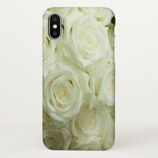 White Roses iPhoneX iPhone X Case