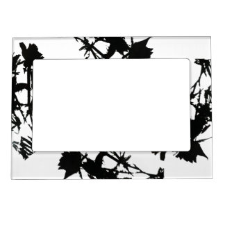 White Roses Magnetic Photo Frame