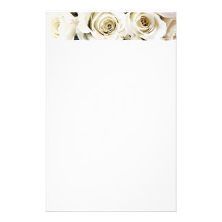 White Roses Stationery