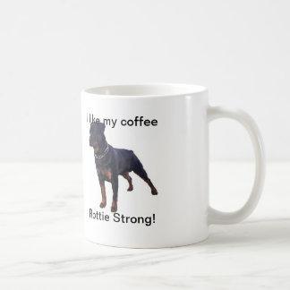 White Rottweiler Mug