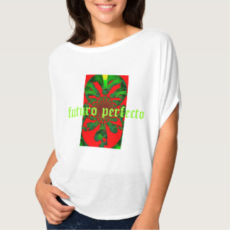 white rower with prints of caledoscopio T-Shirt