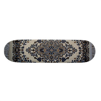 white rug skate boards