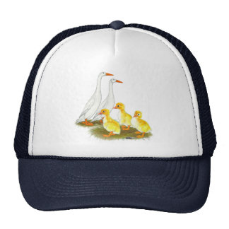 White Runner Duck Family Cap