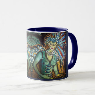 White Sage Fairy Mug Facing Outward