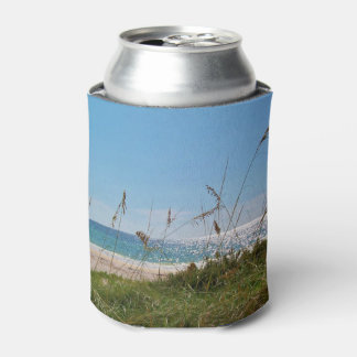 White Sand and Sun Can Cooler