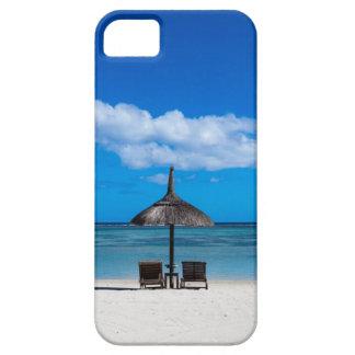 White sand beach of Flic en Flac Mauritius overloo iPhone 5 Covers