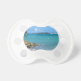 White Sand Beaches in the Bahamas Pacifiers