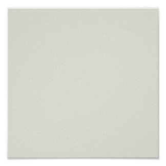 White Sand Solid Color Poster