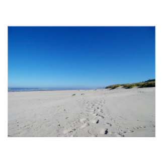 White Sands, Blue Skies Poster