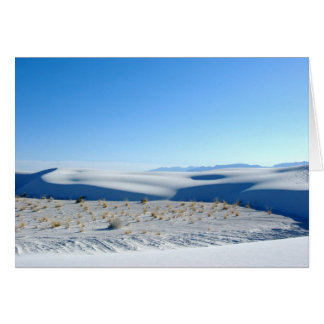 White Sands Card